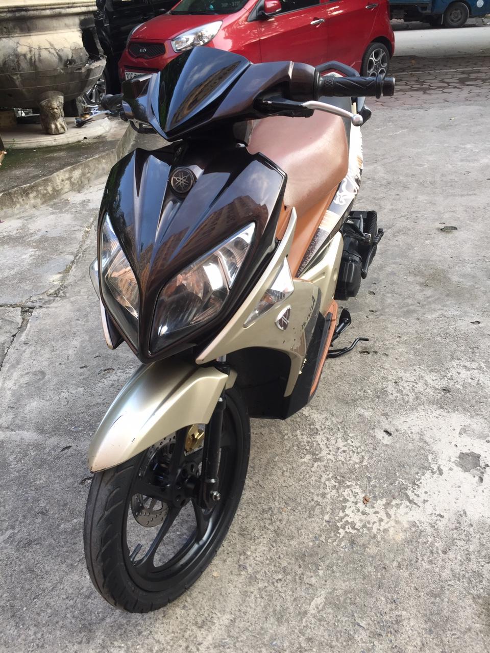 Rao ban xe Yamaha Nouvolx 135 Nau rat moi may chay cuc phe - 2