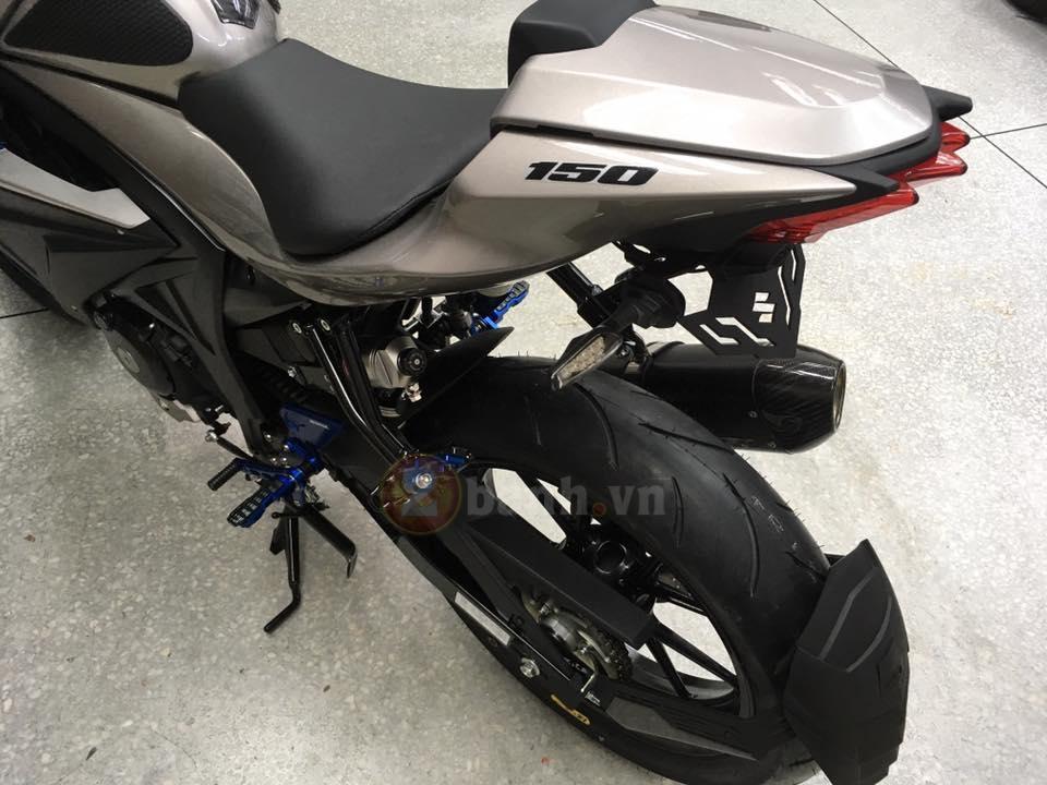 Suzuki tung ra mau xe GSXS150 phien ban Custom - 8