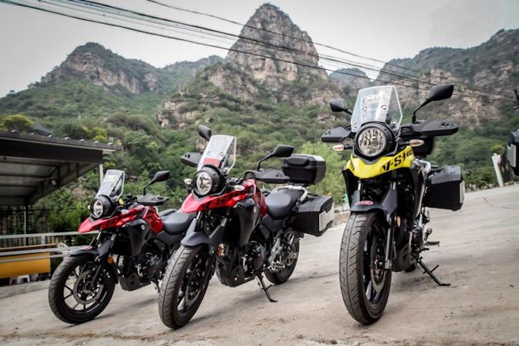 Suzuki VStrom 250 gia nhap phan khuc Adventure tri gia 136 trieu dong - 2