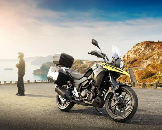 Suzuki VStrom 250 gia nhap phan khuc Adventure tri gia 136 trieu dong - 6