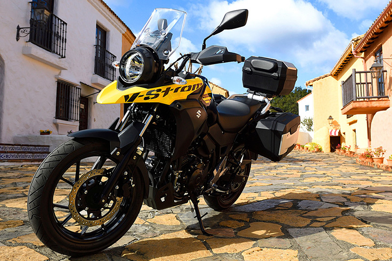 Suzuki VStrom 250 gia nhap phan khuc Adventure tri gia 136 trieu dong - 7