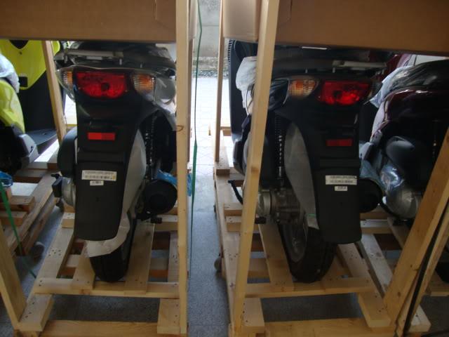 Thanh li kho xe may chinh hang Yamaha Honda gia re - 3