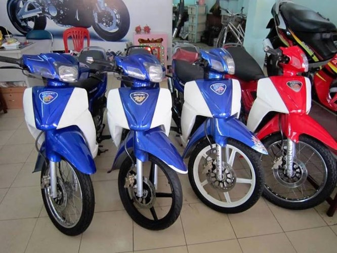 Thanh li kho xe may chinh hang Yamaha Honda gia re - 5