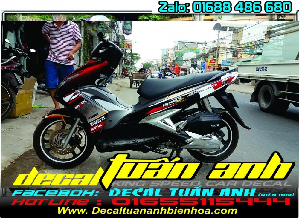 Tong hop bo tem xe Airblade 125 chat do Decal Tuan Anh bien hoa thuc hien - 5