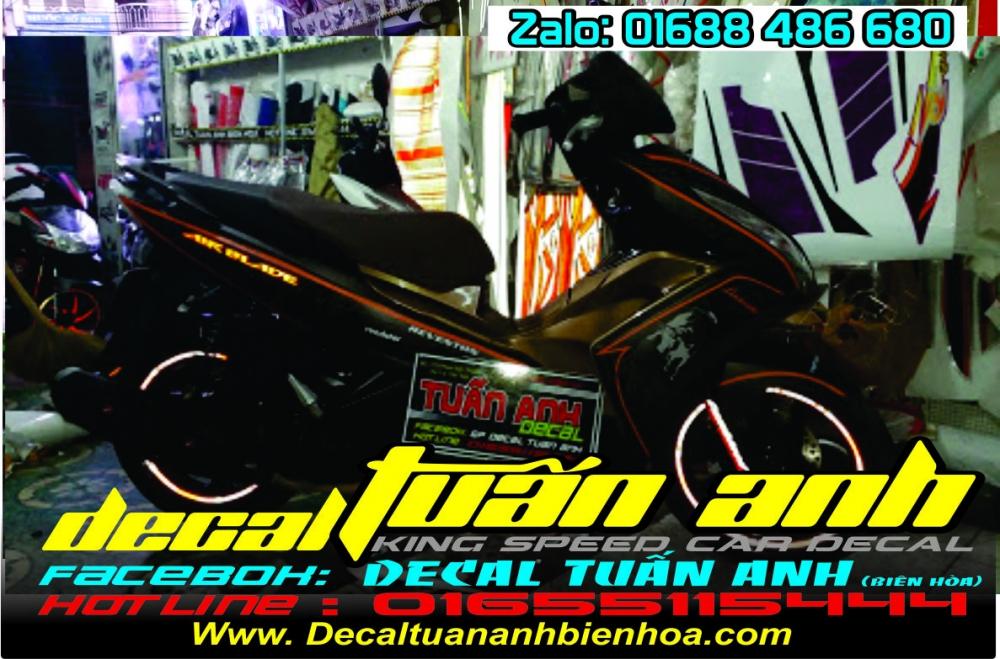 Tong hop bo tem xe Airblade 125 chat do Decal Tuan Anh bien hoa thuc hien - 15