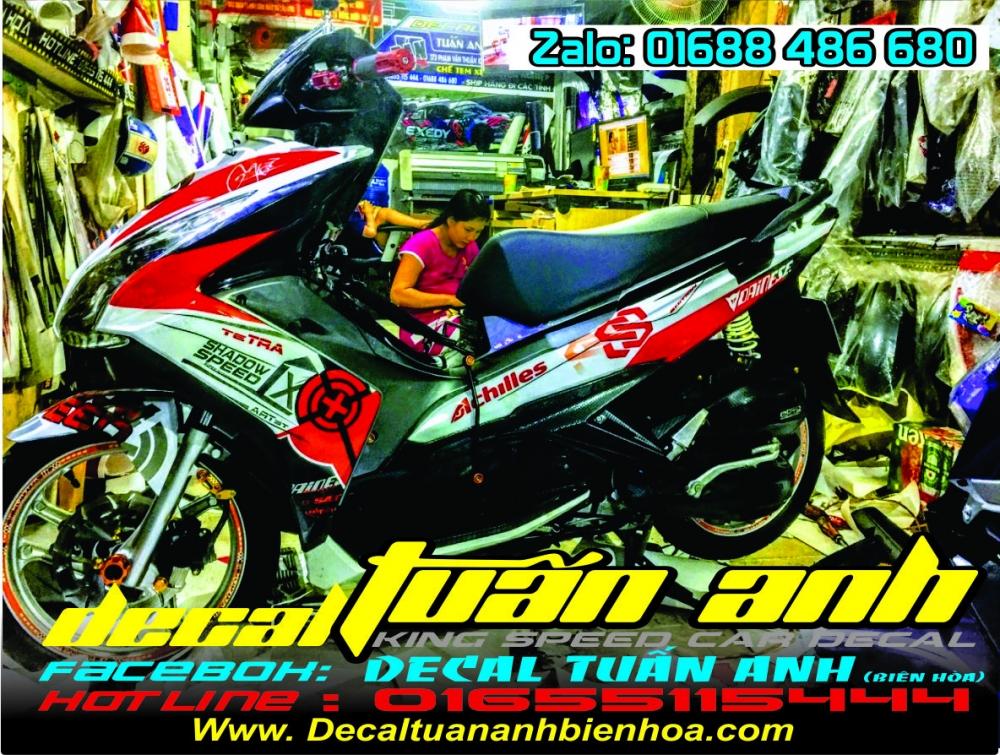 Tong hop bo tem xe Airblade 125 chat do Decal Tuan Anh bien hoa thuc hien - 19