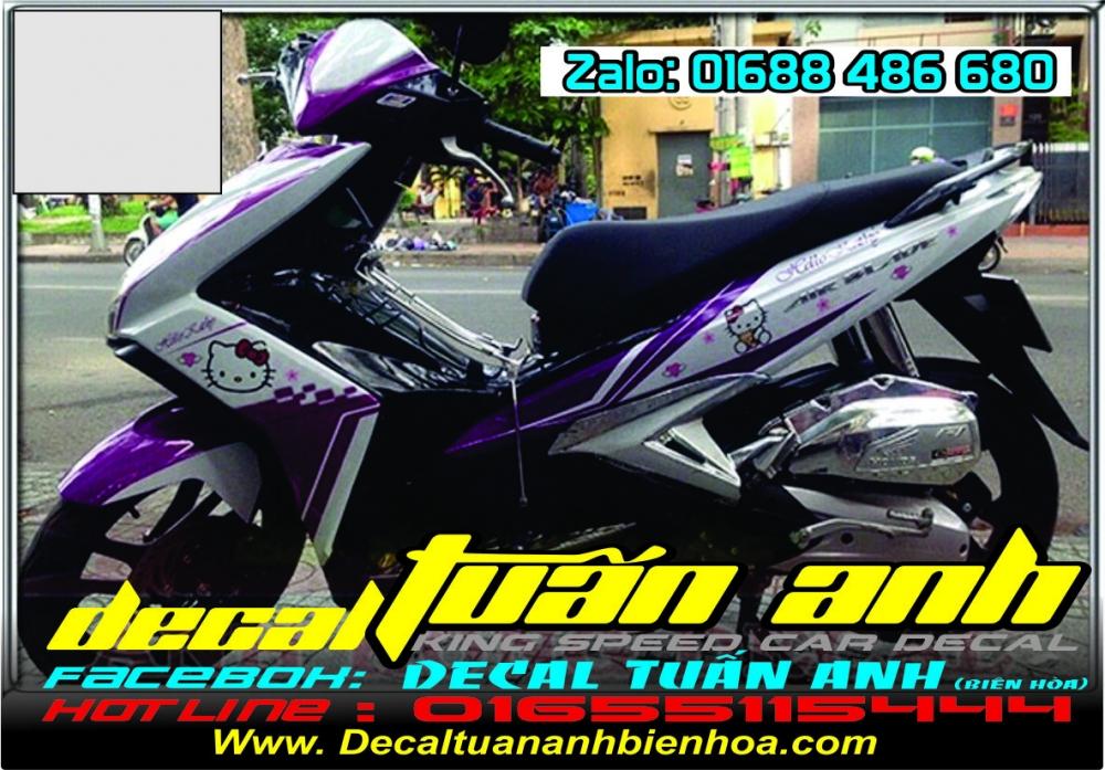 Tong hop bo tem xe Airblade 125 chat do Decal Tuan Anh bien hoa thuc hien - 23