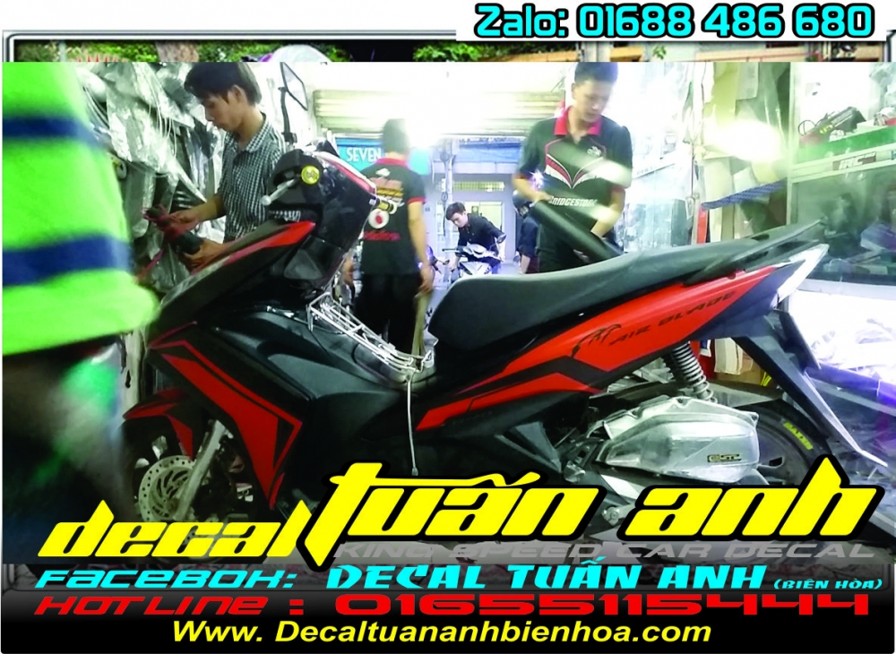 Tong hop bo tem xe Airblade 125 chat do Decal Tuan Anh bien hoa thuc hien - 27