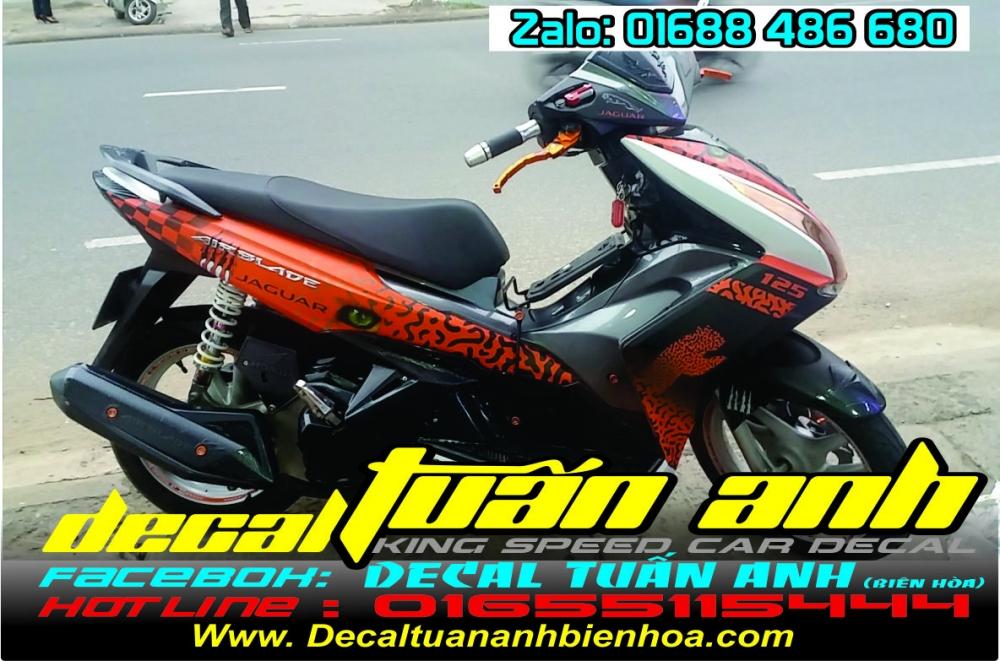 Tong hop bo tem xe Airblade 125 chat do Decal Tuan Anh bien hoa thuc hien - 37