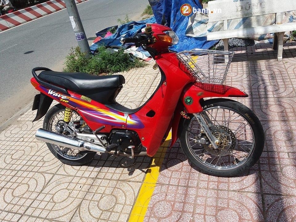 Wave 50cc pha cach cua cau hoc sinh den tu vung dat Long Xuyen - 2