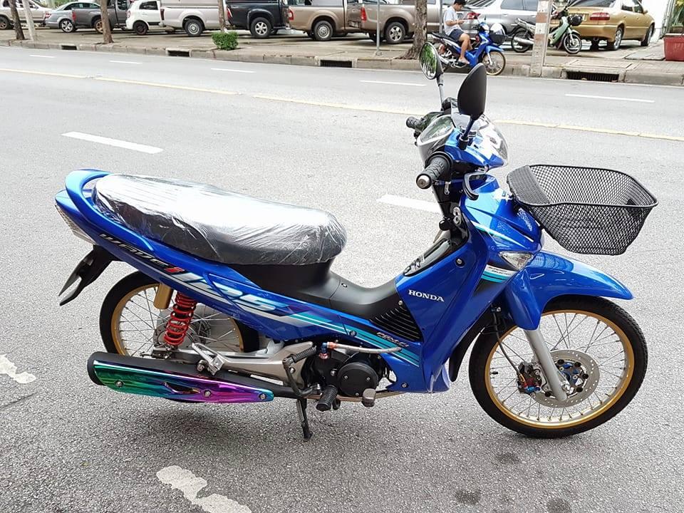Wave i125 ban do nhe nhang tao an tuong cua biker nuoc ban - 2