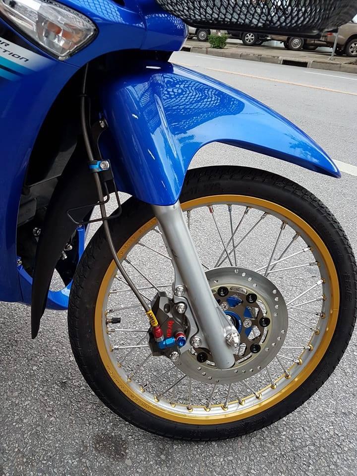 Wave i125 ban do nhe nhang tao an tuong cua biker nuoc ban - 4