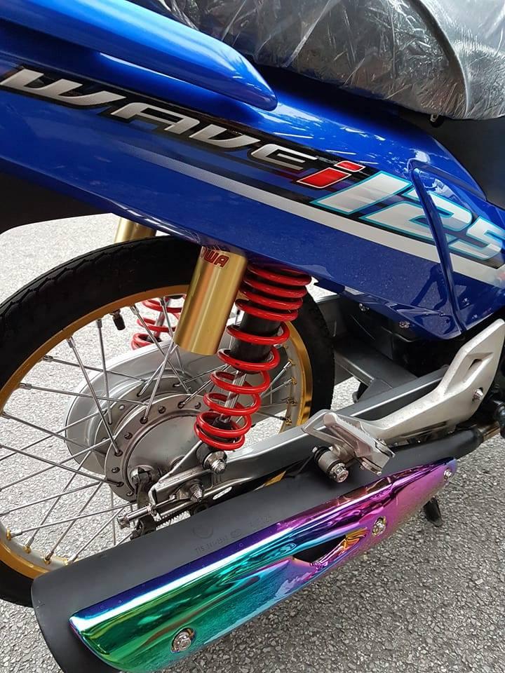 Wave i125 ban do nhe nhang tao an tuong cua biker nuoc ban - 6