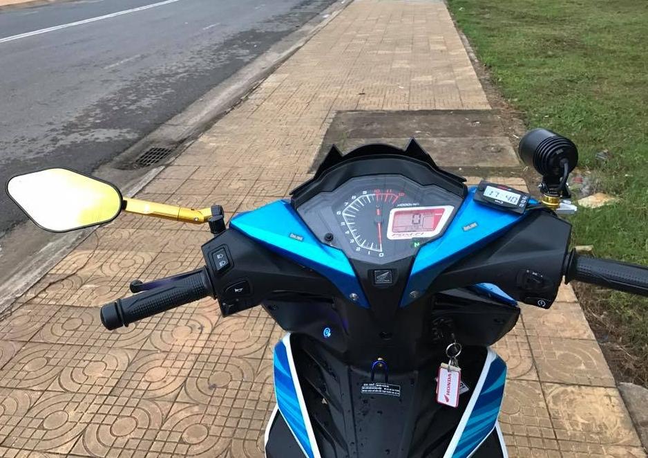 Winner 150 do kieng ca tinh cua biker pho nui - 5