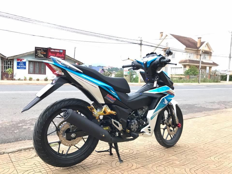 Winner 150 do kieng ca tinh cua biker pho nui - 7