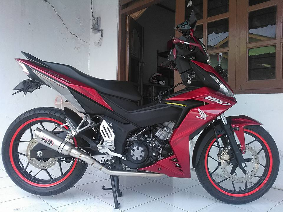 Winner 150 su nguyen thuy an minh sau nong sung uy luc cua biker nuoc ban - 8