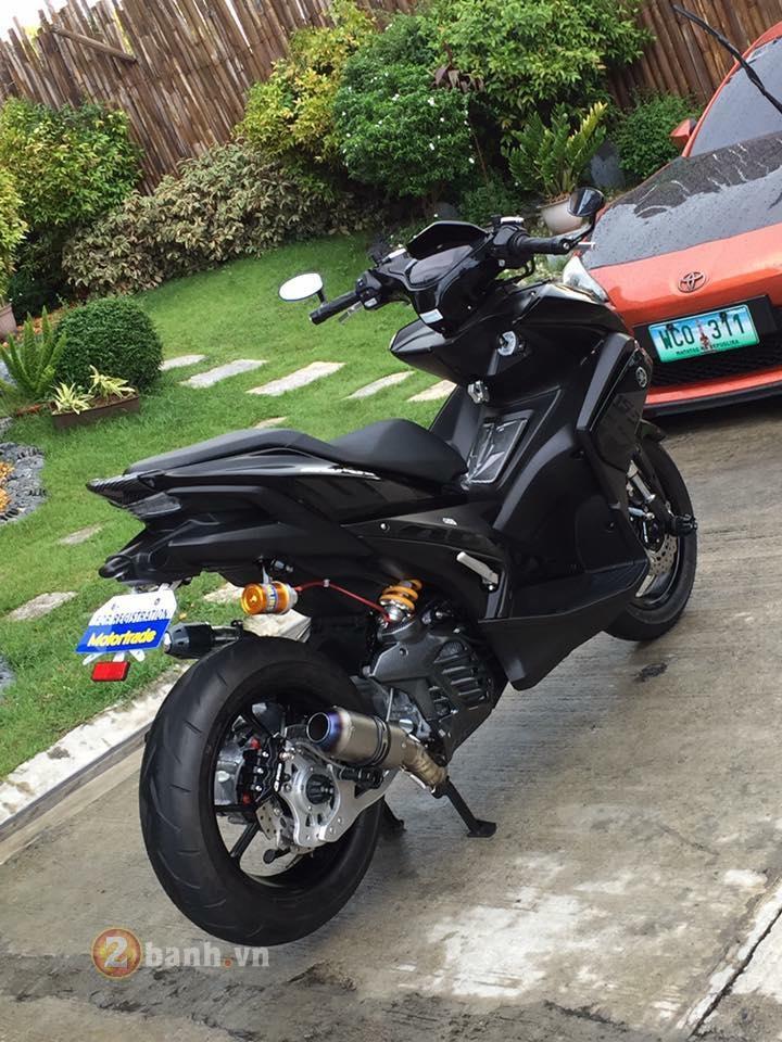 Yamaha Aerox khong the nao ngau hon voi phien ban 1 phuoc - 3