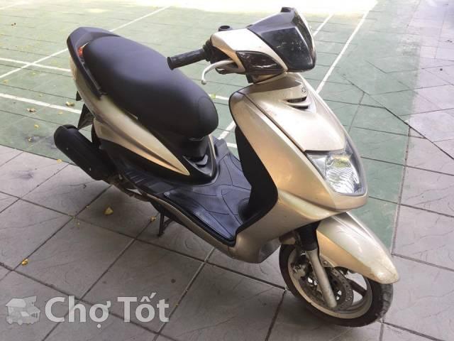 Yamaha Cygnus 4V 125cc mau vang cat nguyen ban - 4
