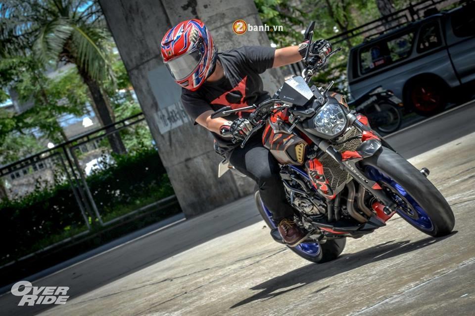 Yamaha MT07 dung manh ben bo canh Samurai huyen thoai - 17