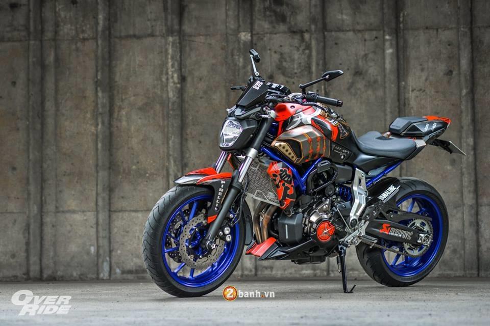 Yamaha MT07 dung manh ben bo canh Samurai huyen thoai - 20