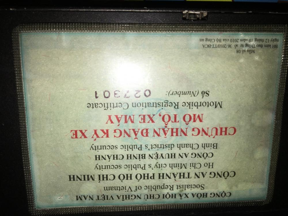 Can ban xe airblade thai 2007 binh xang con
