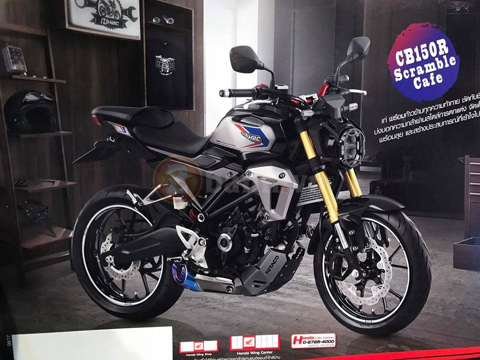 Can canh Honda CB150R Exmotion 2017 voi phien ban Scramble Cafe - 2