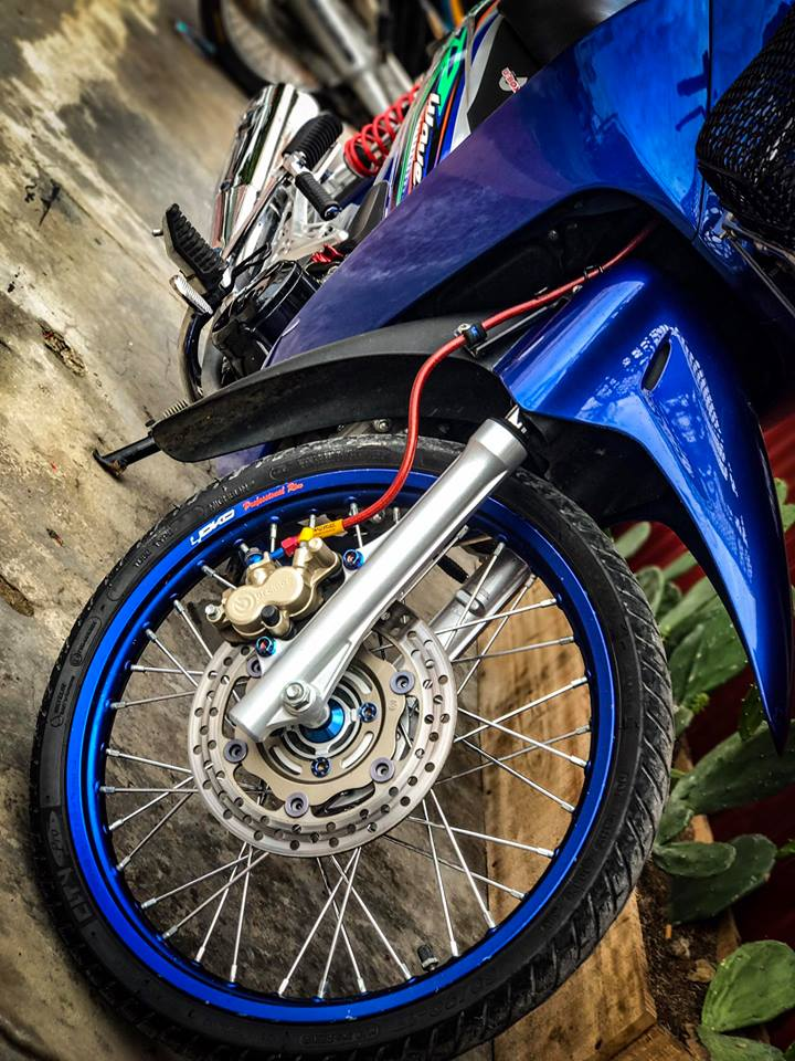 Wave 125i do kieng buc pha moi thoi dai cua biker Viet - 4