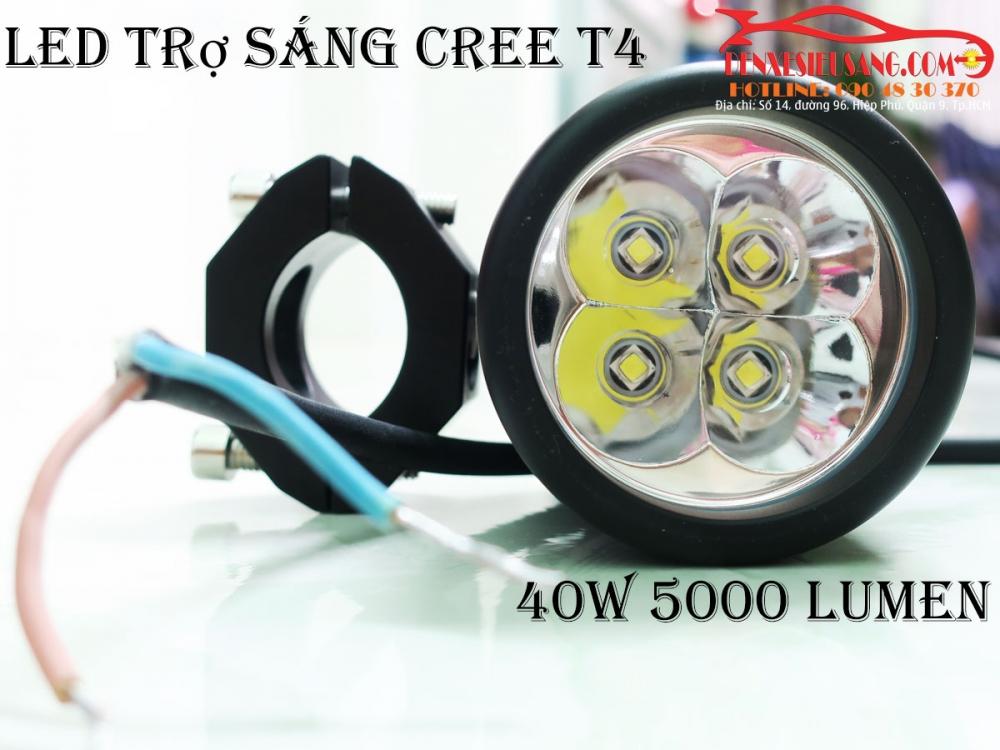 den led cree t4 sang sieu khung chinh hang usa chong nuoc ip68 - 6