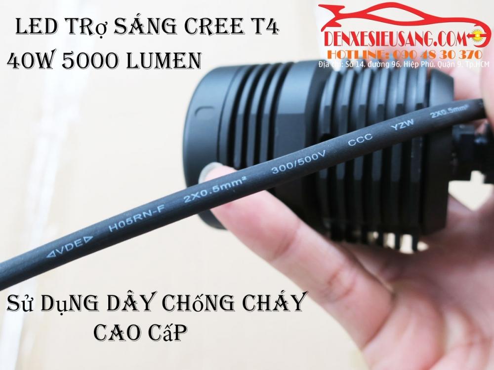 den led cree t4 sang sieu khung chinh hang usa chong nuoc ip68 - 8