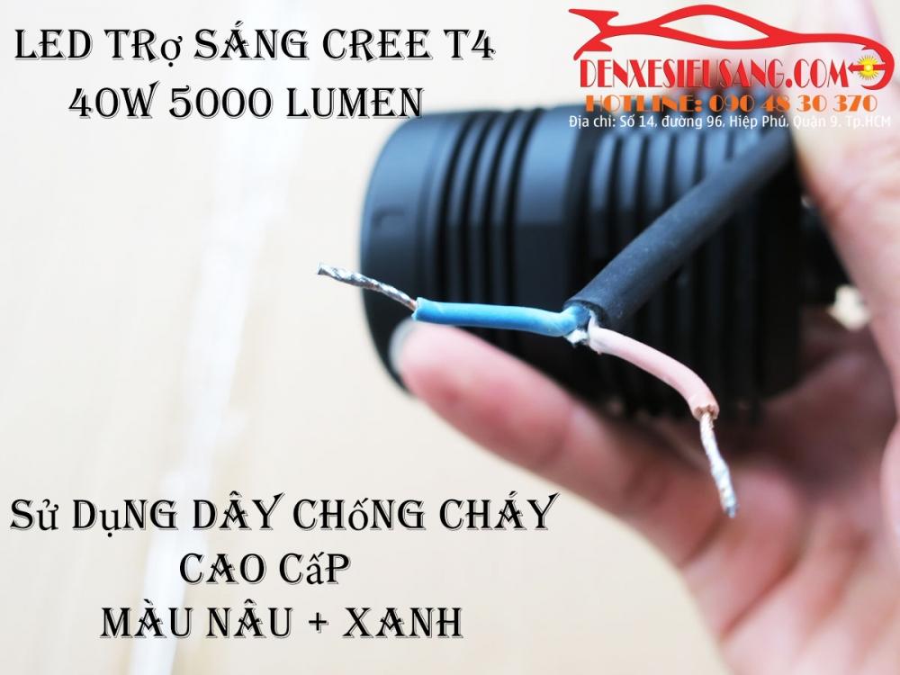 den led cree t4 sang sieu khung chinh hang usa chong nuoc ip68 - 9