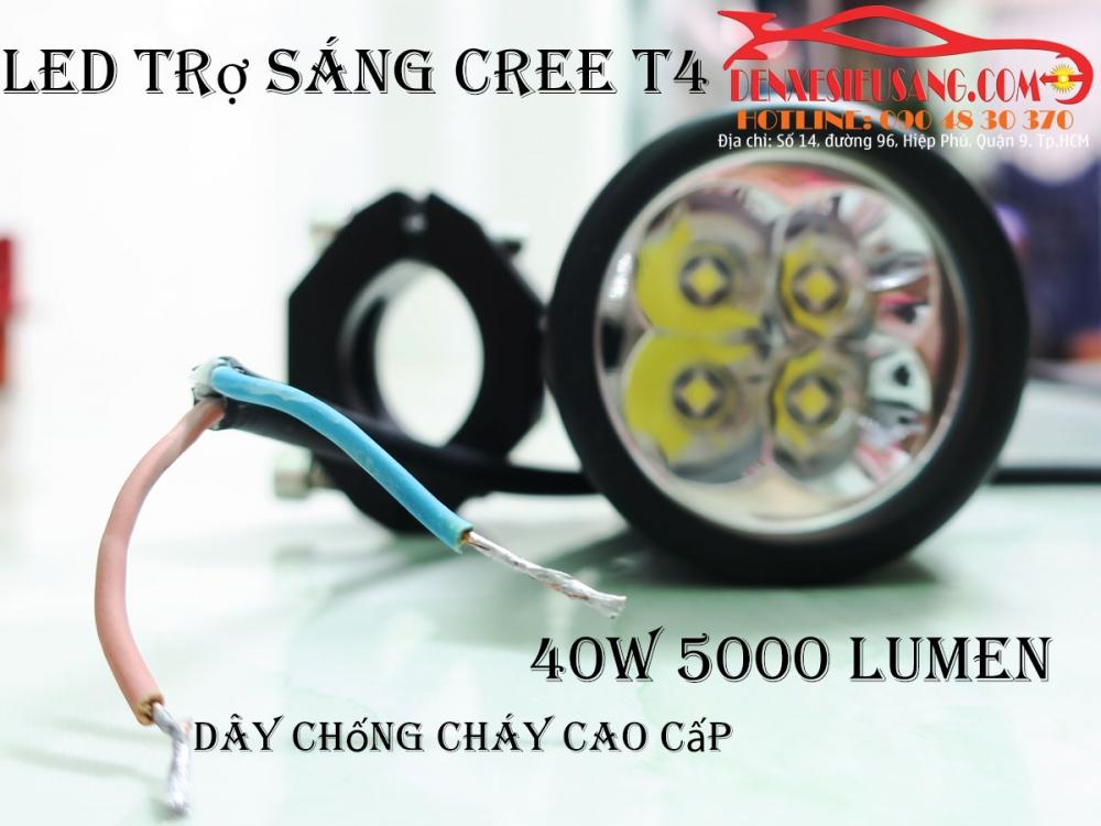 den led cree t4 sang sieu khung chinh hang usa chong nuoc ip68 - 13
