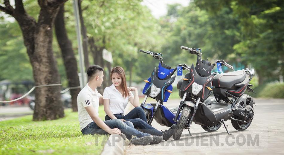 Xe may dien Xmen GT 2017 tre trung nang dong - 3