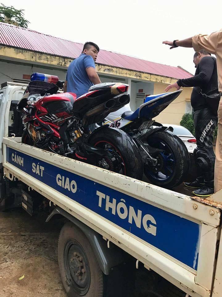 Doan xe PKL Viet Nam thong chot CSGT cang nhat lich su cai ket - 7