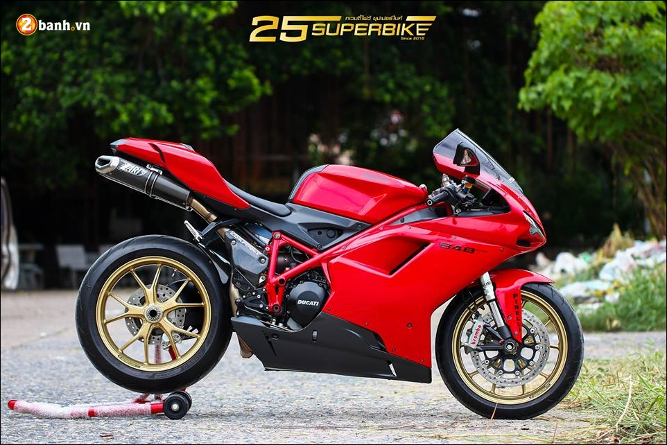 Ducati Evo 848 do an tuong voi thiet ke truyen thong - 12