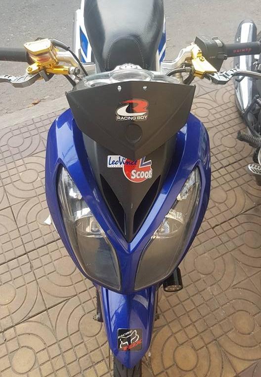 Exciter 135 do an than phia sau bo canh X1R cua biker Dong Thap - 5