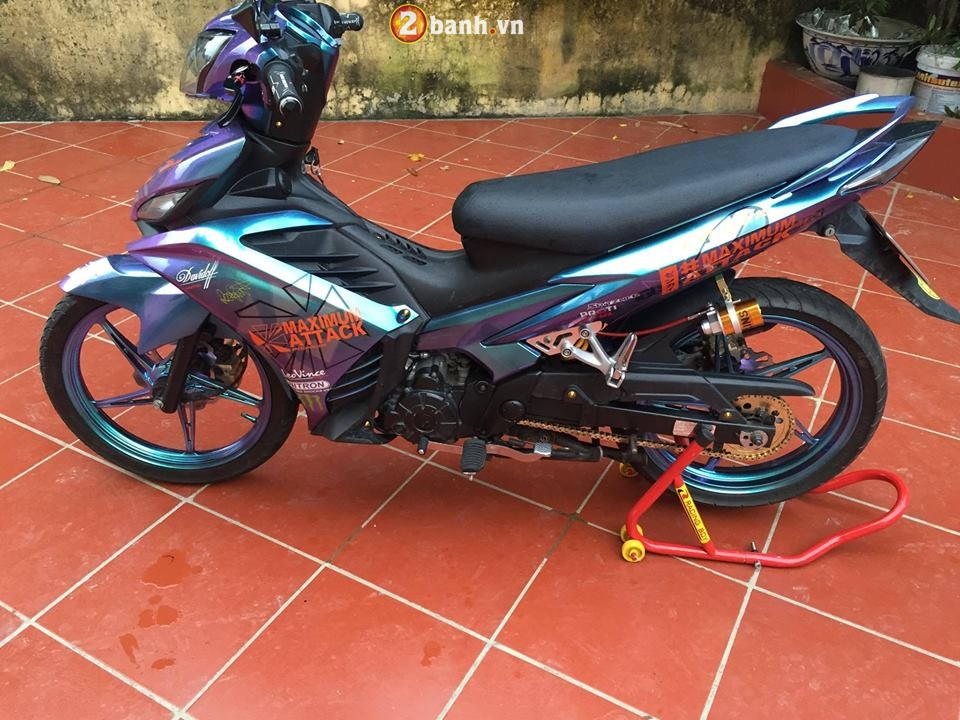Exciter 135 do cuc ngau voi hoi tho dung manh day ca tinh - 3
