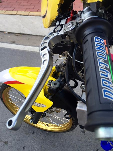 Exciter 135 do Drag day an tuong voi hinh anh Minions - 5