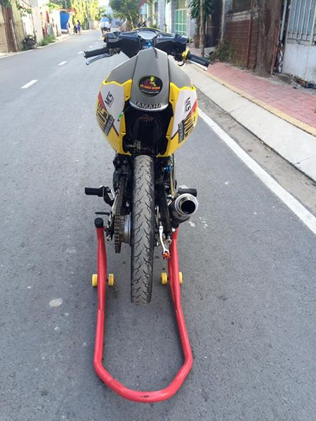 Exciter 135 do Drag day an tuong voi hinh anh Minions - 9