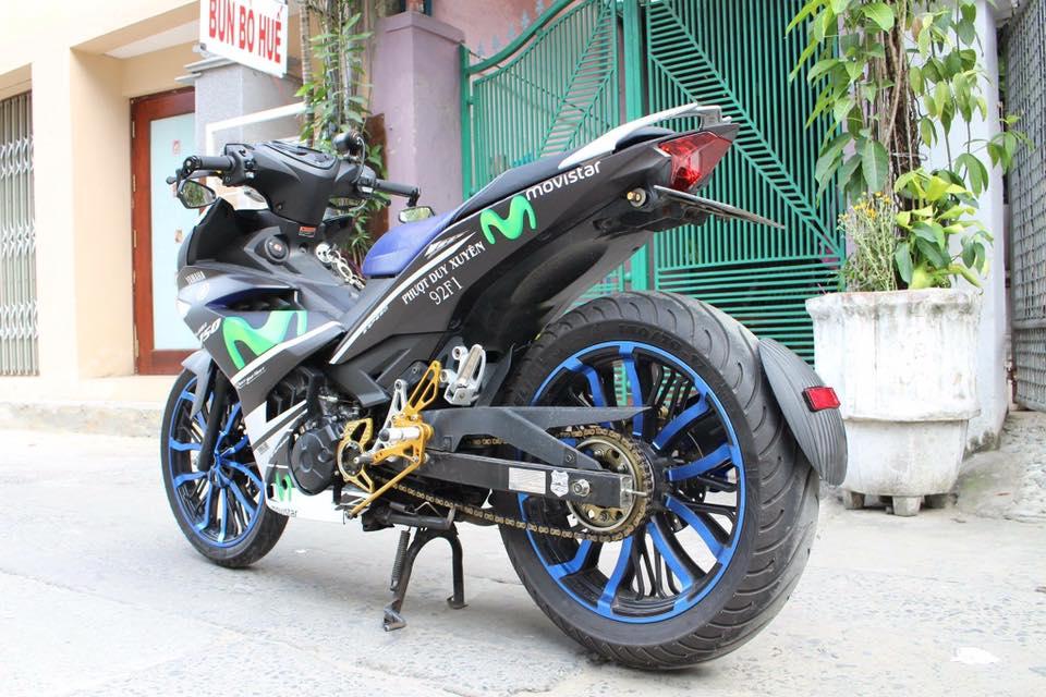 Exciter 150 do kieng buc pha phien ban Movistar cua Biker Da Nang - 3