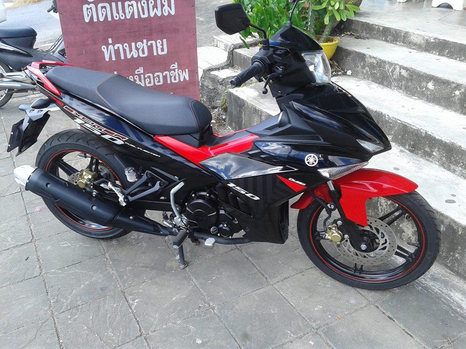 Exciter 150 do kieng lot xac theo tung ngay cua biker Thailand - 3
