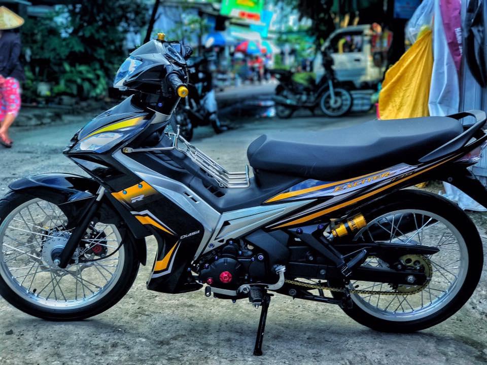 Exciter 2010 do kieng leng keng day an tuong cua biker Viet - 9