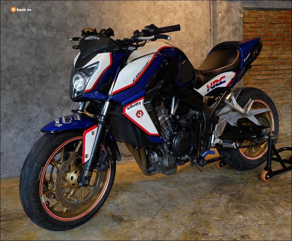 Honda CB650F do phong tran qua bo canh HRC - 3