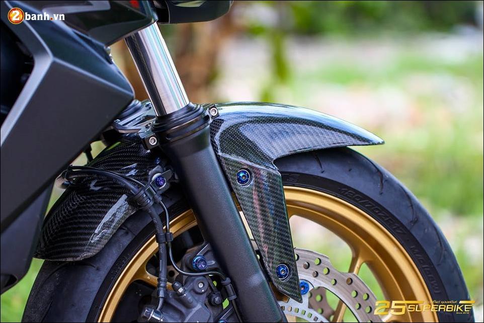 Honda CB650F do tinh te qua cong nghe do choi Titanium - 11