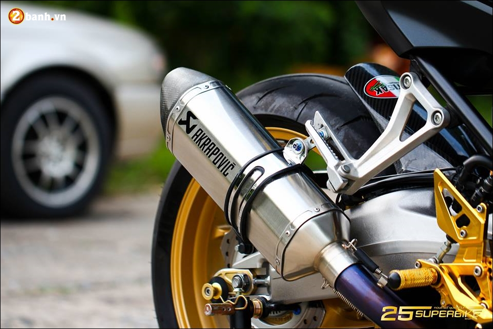 Honda CB650F do tinh te qua cong nghe do choi Titanium - 15