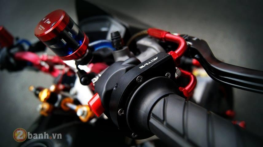 Honda MSX do 1 gap sieu an tuong ham ho day co bap - 4