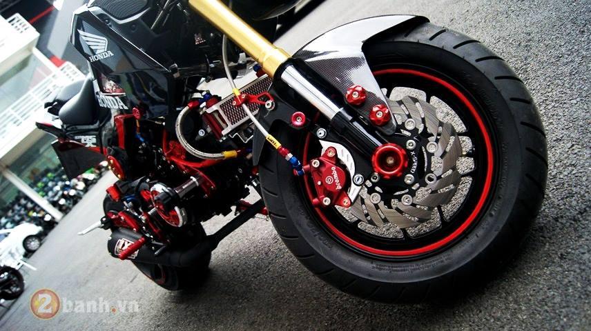 Honda MSX do 1 gap sieu an tuong ham ho day co bap - 6