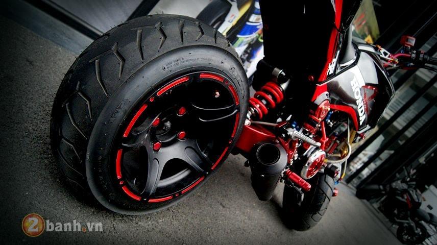 Honda MSX do 1 gap sieu an tuong ham ho day co bap - 8