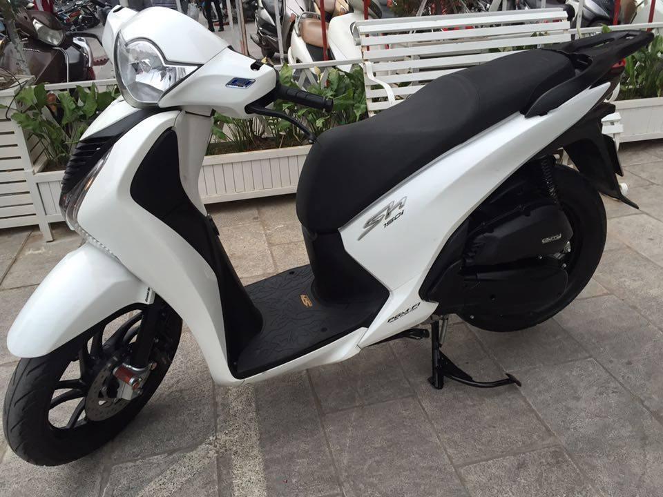 honda SH 150i VN Trang 90 29h Trang doi 2014 chinh chu 725trxe dan nilon tu moi - 3