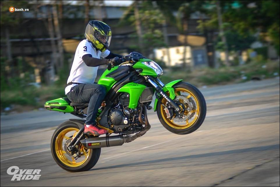 Kawasaki ER6n do nguoi khong lo xanh choi chang - 15