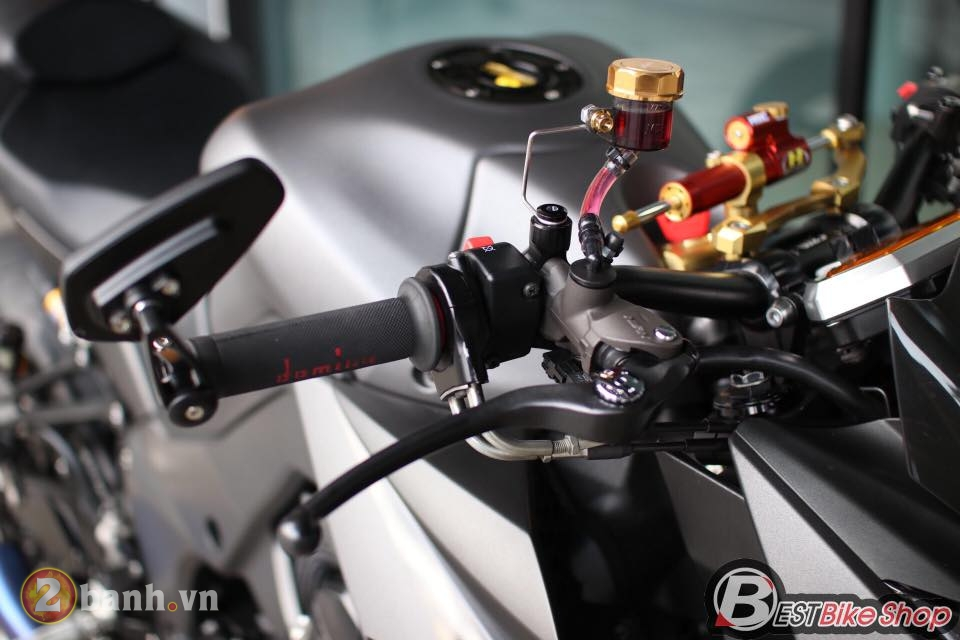 Kawasaki Z1000 day sac ben trong phien ban Matte Black - 4